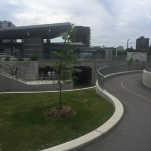 Ottawa cycle path