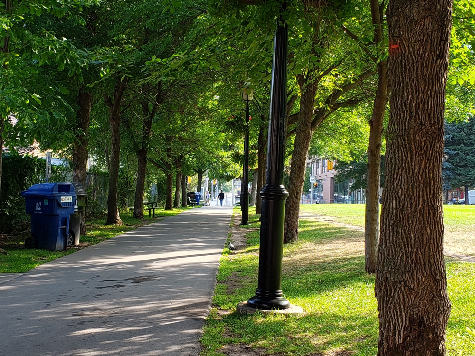 Successful collaboration in planning urban parks: a NACTO walk in downtown Toronto